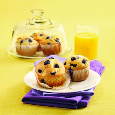 Splenda Very Berry Blueberry Muffins