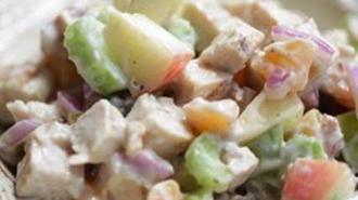 Skinny Chicken Waldorf Salad Recipe — Dishmaps