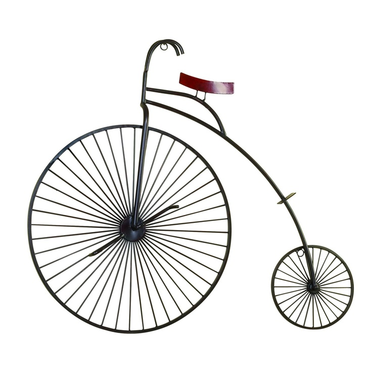Bicycle wall d cor large for the home pinterest for Bicycle wheel wall art