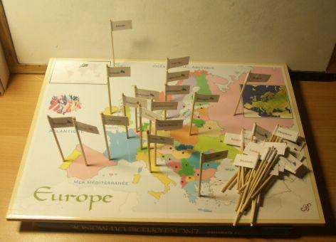 Plateaux de jeux Montessori  Géo et sciences  Participassions