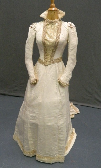 Pin by sandy hall on fabulous wedding dresses of the past for 19th century wedding dresses