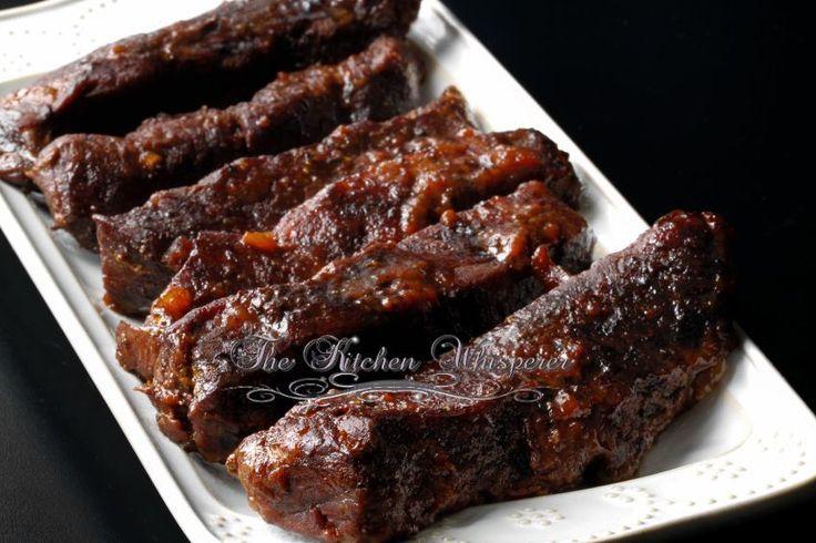 Slow baked boneless beef short ribs recipe for Bbq boneless short ribs