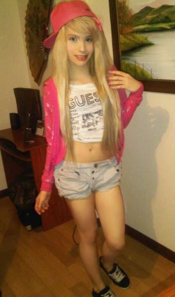 Teen crossdresser sissy