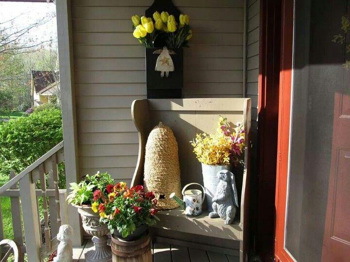 spring porch ideas decorating ideas pinterest