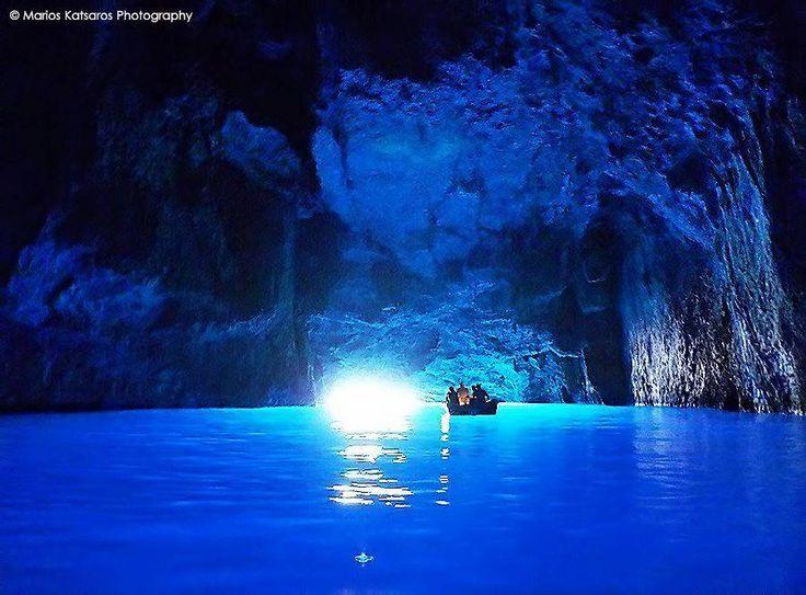 Kastelorizo island,The Blue Cave  ☼Greece☼  Pinterest