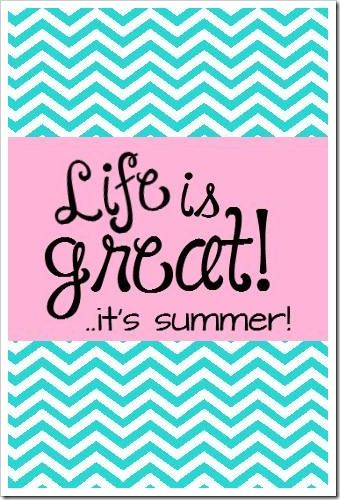 Camping trip-check Anniversary trip-check Summer vacation #1-check Everything is planned... We are ready for summer!  Life is great with family!