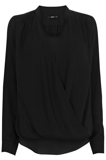 Oasis Luxe Wrap Blouse 41