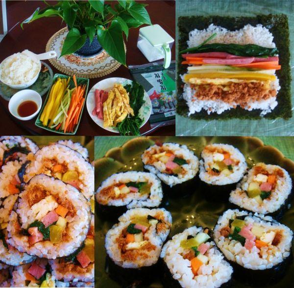 kimbap! | noms: lunch & dinner | Pinterest