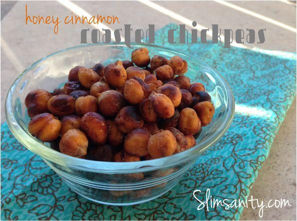 Honey Cinnamon Roasted Chickpeas: an easy, clean snack. check here for ...