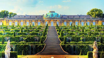 Sanssouci Castle, Germany.
