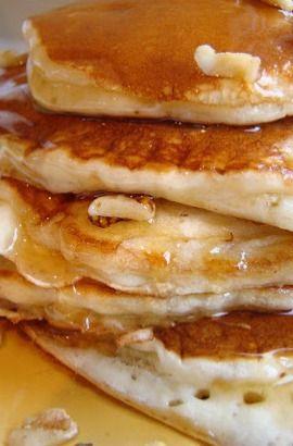 Banana buttermilk pancakes | Recipes | Pinterest