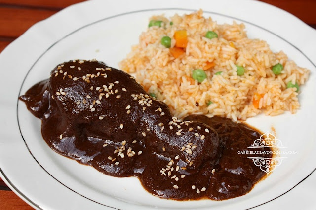 Pollo con mole poblano | Food | Pinterest