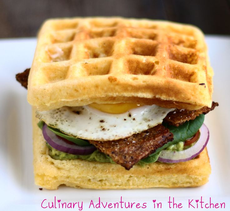 BLT Waffle Sandwich #tangoo #vancouver | Recovery Brunch Food | Pinte ...