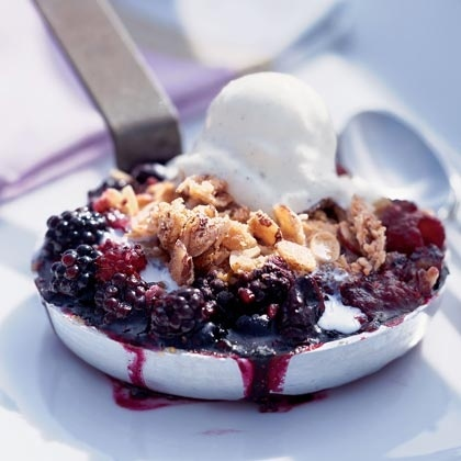 triple berry crisp | Food Glorious Food! | Pinterest