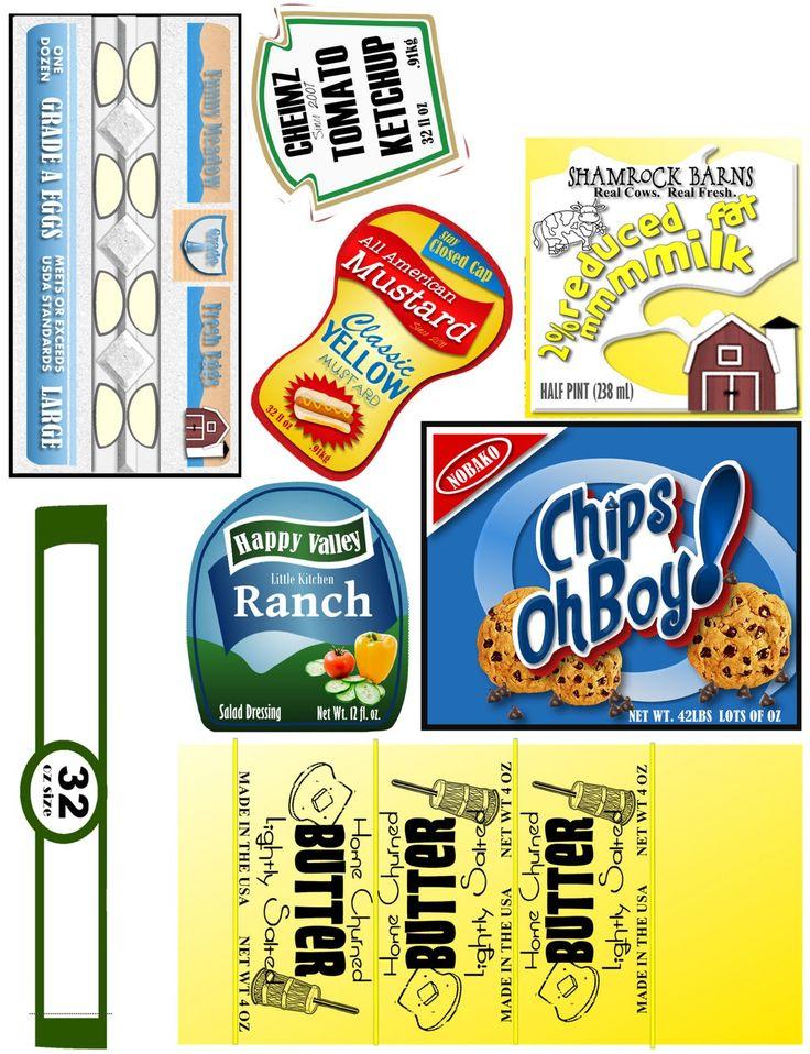Imprimibles de etiquetas