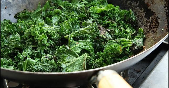 Recipe: Hearty Greens With Garlic | Greatist
