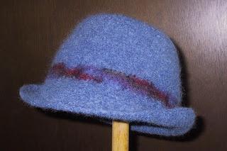 Suzies Stuff: FELTED ROLL BRIM HAT (C)