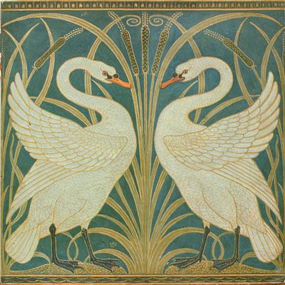 Crane s swan wallpaper bradbury amp bradbury art wallpapers blog