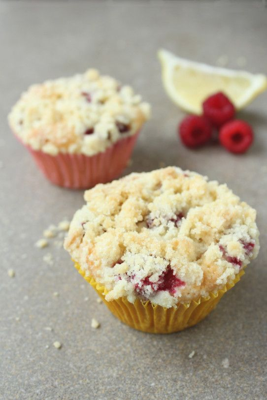 Lemon-raspberry muffins no eggs #recipe | Recipes And Food Gift Colle ...