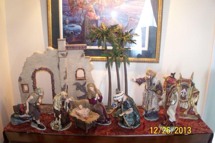 Nativity 2013 | Christmas Decorating Ideas | Pinterest