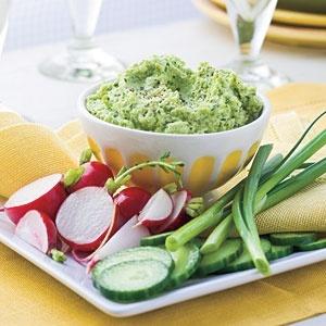 ... Recipes | Roasted Garlic-Edamame Spread | SouthernLiving.com food-love