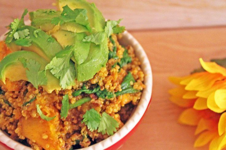 Honey Spiced Butternut Squash & Quinoa   Little Kitchen, Big Bites