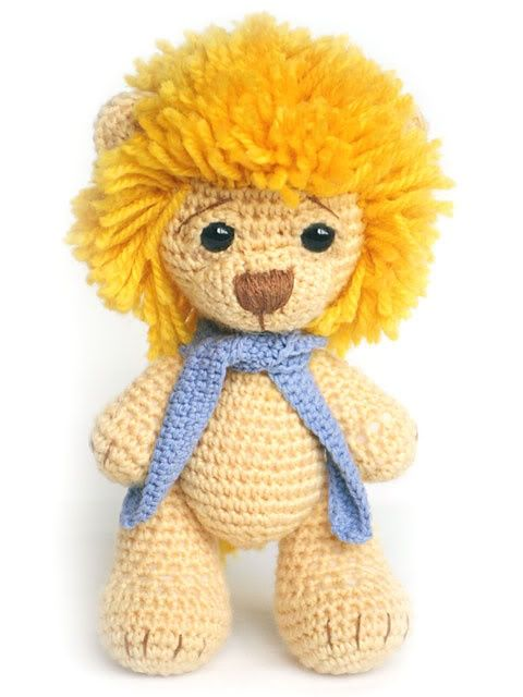 Amigurumi lion Yarn Crafts Pinterest