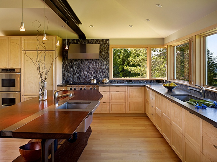 Pin by janelle kasch on interior design pinterest for Kitchen designs with two windows