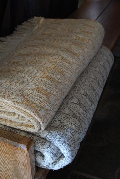 welsh wool bedspread