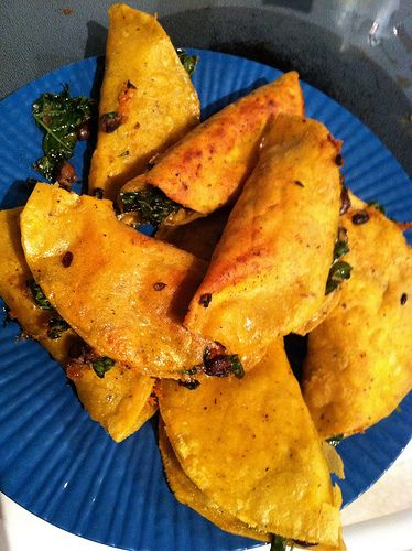 ... Crunchy Black Bean and Kale Tacos - a meatless recipe for meat-lovers