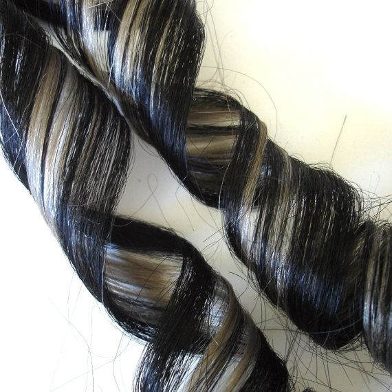 Silver Grey Clip In Hair Extensions 17