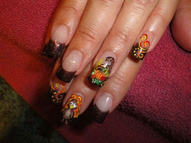 Thanksgiving | Nails Now ..Hair Later | Pinterest
