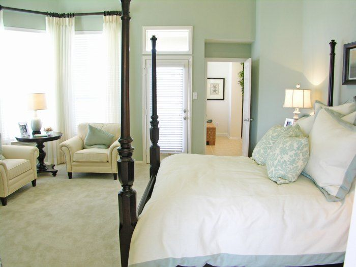 beautiful soft green master bedroom for the home pinterest