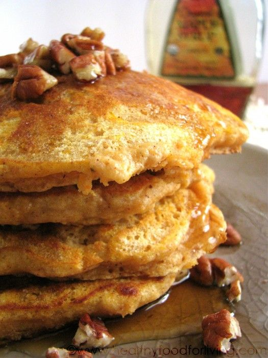 Sweet Potato Pie Pancakes for One