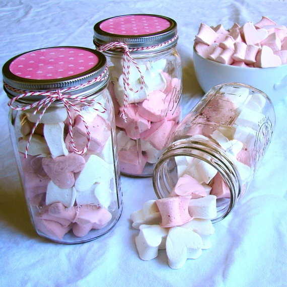 valentines jar decorations