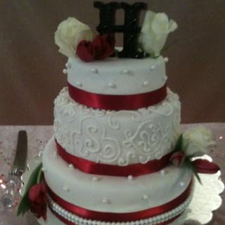 valentine's day wedding cakes
