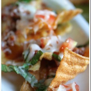 Spaghetti Nachos | Recipes | Pinterest