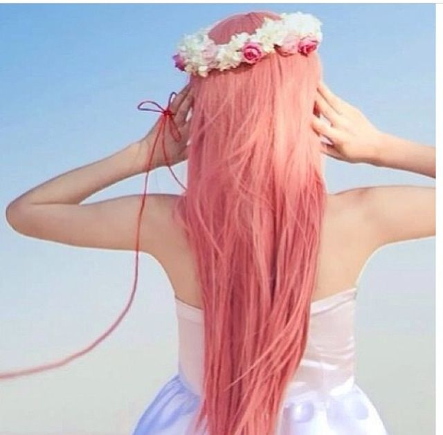 A Really Light Pink Hair Color Cute  Hair  Pinterest