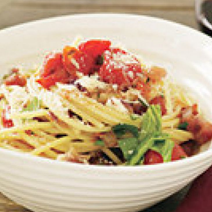Cherry Tomato Spaghetti all'Amatriciana | Pizza | Pinterest