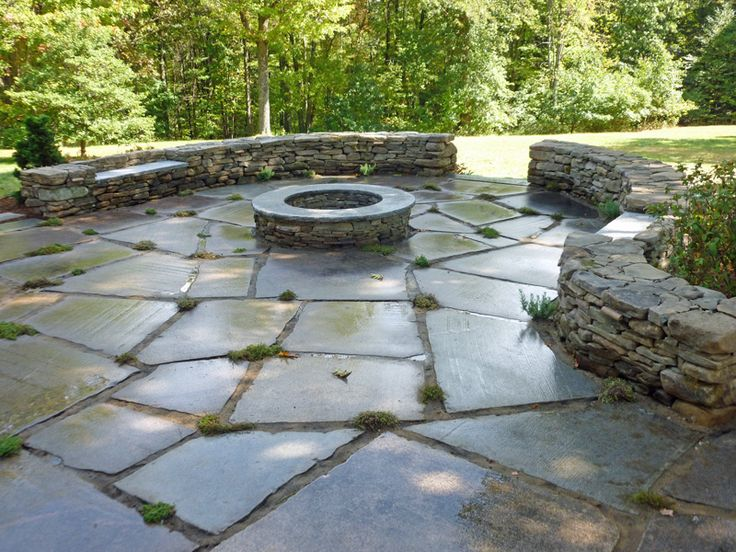 Stone Patio Google Search Outdoor Projects Pinterest