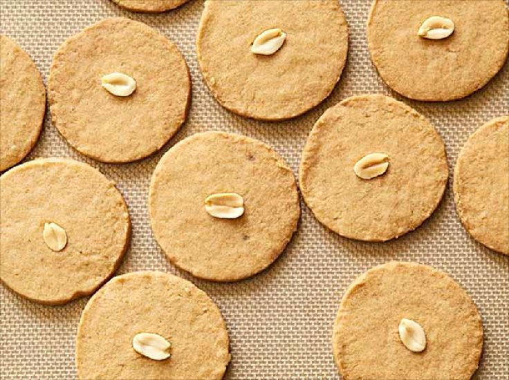 Slice and Bake Peanut Butter Sandies from FoodNetwork.com | cookies ...