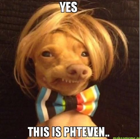 Yes, this is Phteven...