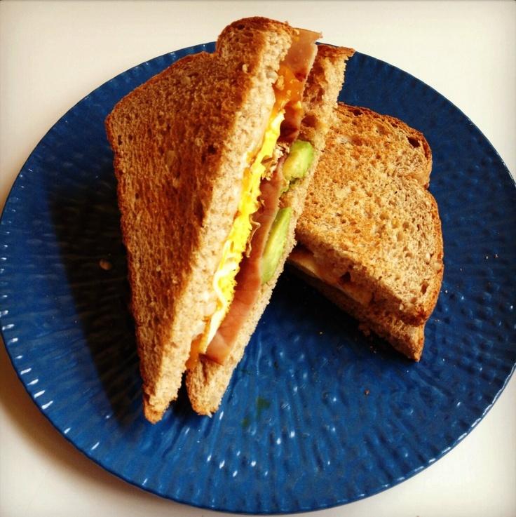 Avocado Egg Sandwich Recipe - The Lemon Bowl