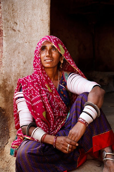 Bishnoi woman. Jodhpur, India.