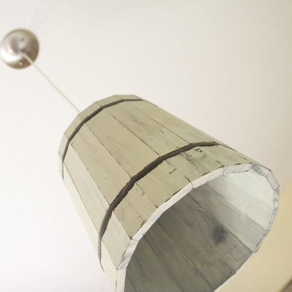 barrel from Home depot = pendant light