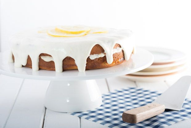 lemon layer cake...this was delicious. | gluten free goods | Pinterest