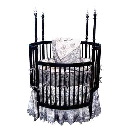 Best Sophistication Black Round Crib Baby Room Pinterest 640 x 480
