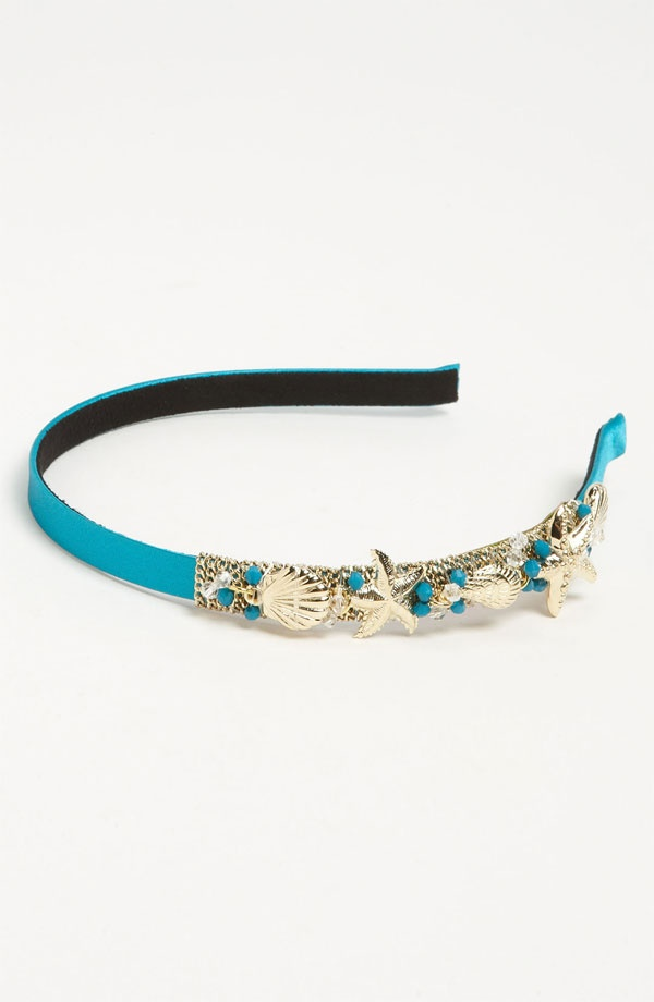 Under the Sea' Headband in Turquoise (Cara)