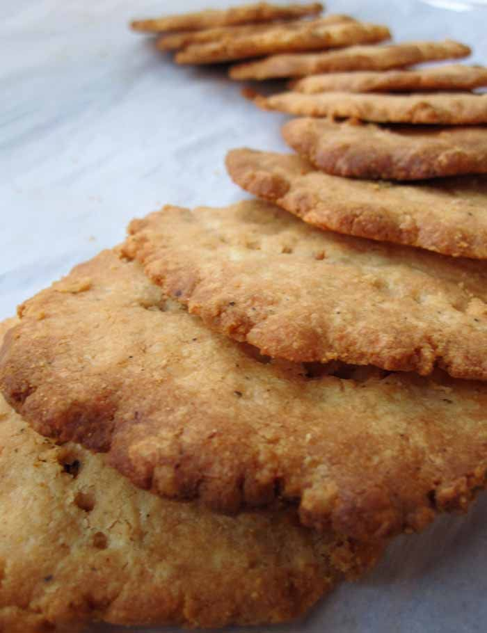Sharp Cheddar Cheese Crackers Recipe — Dishmaps