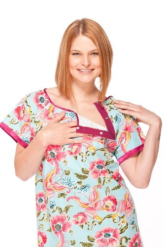fashionable hospital gowns maternity